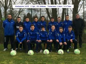 C-Junioren VFL Hiddesen