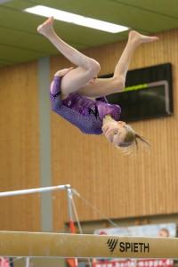 Amy Joy Diekmann im Wettkampf (Foto: Bernhard Schwall)