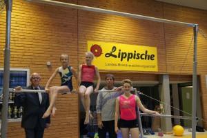 v.l. Norbert Helmhold, Jamy Lynn Doberstein, Kristina Iltner, Michael Gruhl, Leonie Schmedthenke