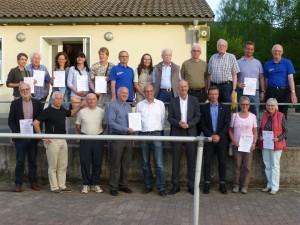 Sportabzeichen-Ehrung 2015