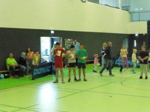 Teilnehmer beim Kindersporttag