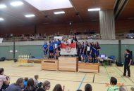 Siegerehrung der B-Mädchen Mannschaft (Foto: Holger Hamann)