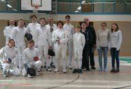 Teilnehmer des Detmolder Degen (Foto: W. Haase)
