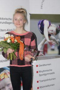 Kristina Iltner als Turnerin des Jahres geehrt (Foto: H.-J. Dörrer)
